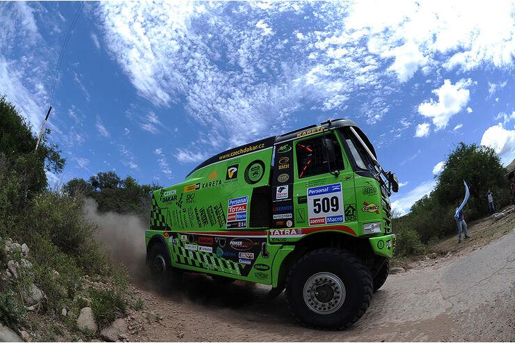Dakar 2011 Argentinien Chile