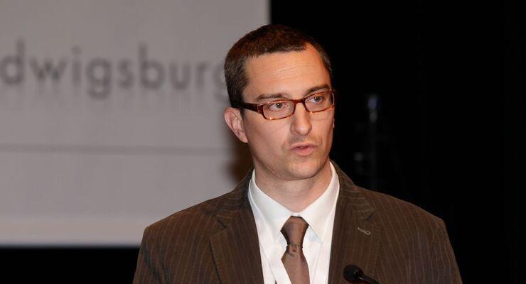 Daniel Geis-Esser, Entwicklungsleiter Engine-Air and Transmission, Knorr-Bremse, lao-Zukunftskongress 2011