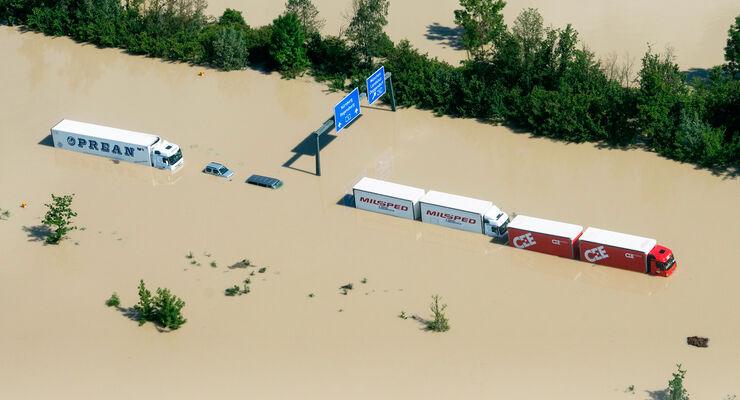 Das Hochwasser in Deutschland