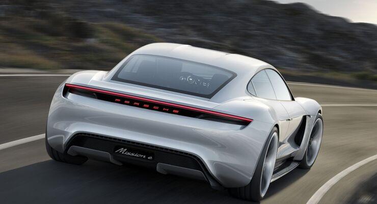Das Konzept Porsche Mission E