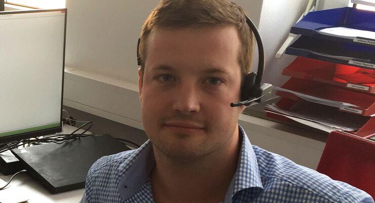 David Keil, Berater und Projektmanager Logistiksoftware und Telematiksysteme