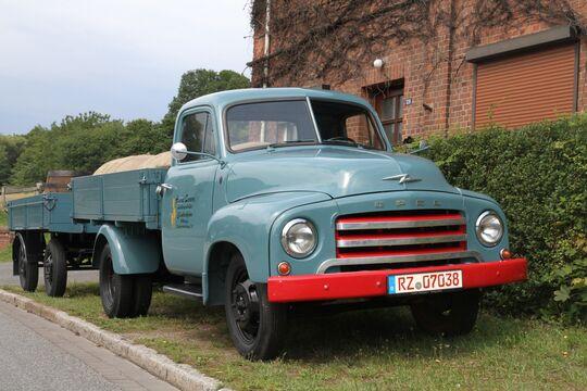 Der Opel Blitz von Cloppenburg