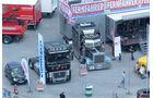 Der Renault Magnum im V-top-Look und der Peterbilt 379 von American Truck Promotion zierten den FERNFAHRER-Stand.