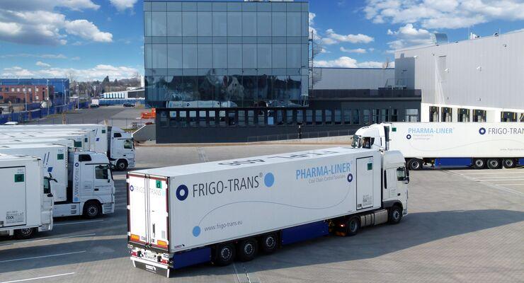 Der neue Hauptsitz von Frigo-Trans in Fußgönheim