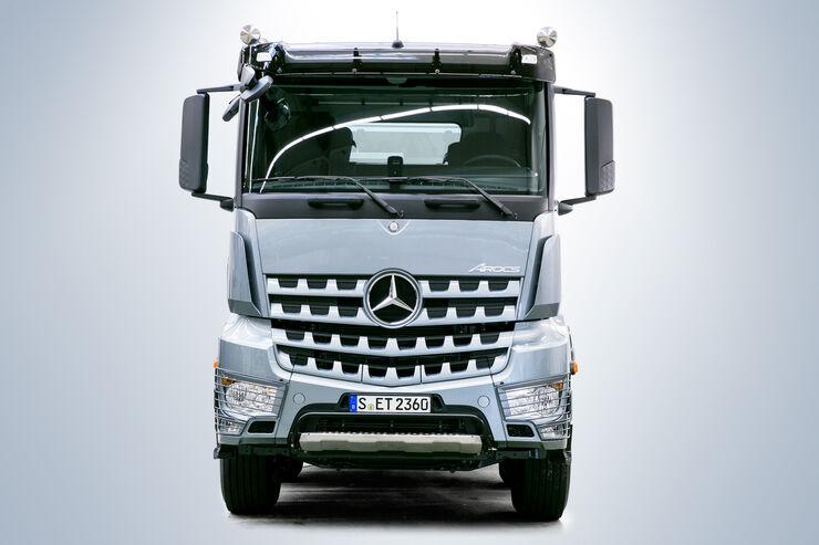 Der neue Mercedes Arocs – Fahrerhäuser, Frontansicht