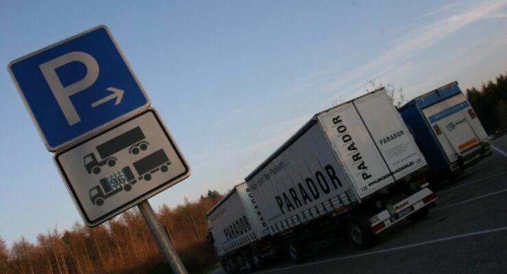 Deutsche Rastplätze nicht sicher genug