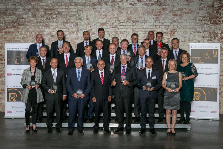 """Die Gewinner bei """"Die besten Marken 2015"""""""