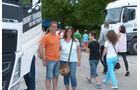 Die Ludwigsburger Marion und Frank Stockmann freuten sich über das großartige Truck-Event in der Nachbarschaft und besuchten es gleich an zwei Tagen.