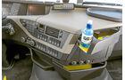 Die stärksten Serien-Lkw, Vergleichstest, Ablagen, Volvo