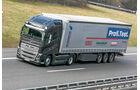 Die stärksten Serien-Lkw, Vergleichstest, Volvo, FH16