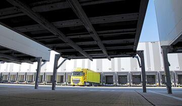 Distributionszentrum von Metro Logistics