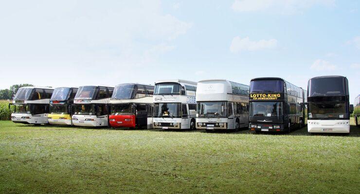 Doppel Vergleich Neoplan Auwärter Omnibus