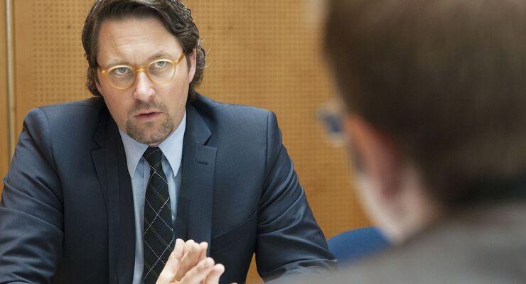 Dr. Andreas Scheuer, Parlamentarischer Staatssekretär im BMVBS