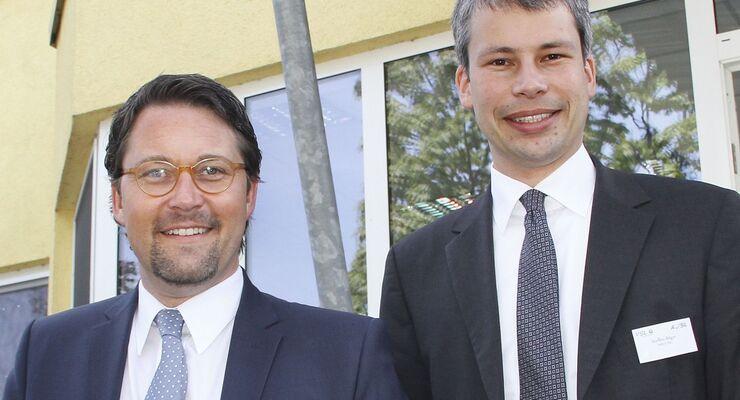 Dr. Andreas Scheuer und Steffen Bilger