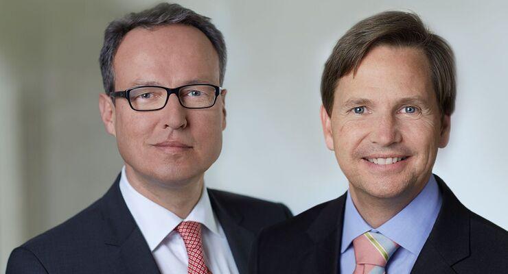 Dr. Henrik Thiele, Hinrich J. Woebcken, Knorr-Bremse, Vorstände bis 06/2015