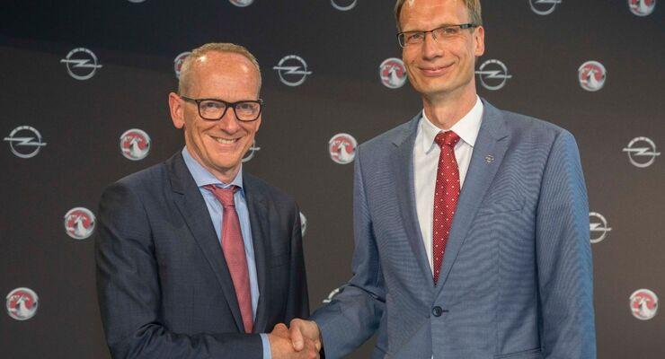 Dr. Karl-Thomas Neumann, Michael Lohscheller Opel
