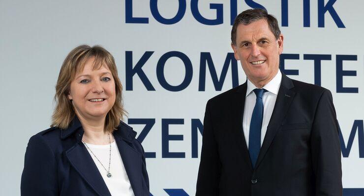 Dr. Petra Seebauer und Karl Fischer vom LKZ Prien