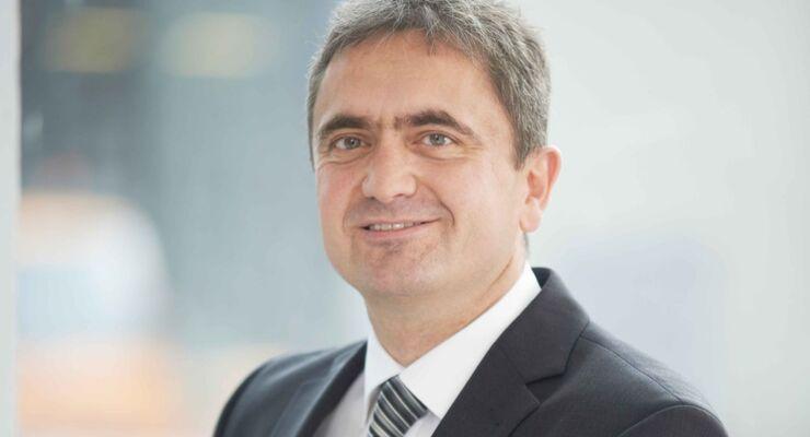 Dr. Uwe Lauber, Vorstandsvorsitzender von MAN Diesel & Turbo