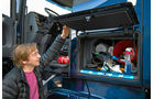 Drei Generationen Scania-Lkw, Außenfächer