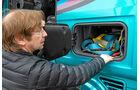 Drei Generationen Scania-Lkw, Außenstauraum
