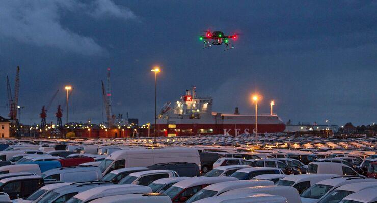 Drohne von Sitebots