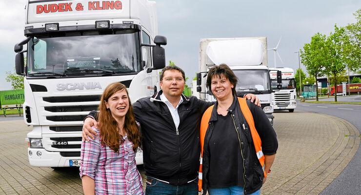 Dudek und Kling, Anna Maihoff, Berufskraftfahrer
