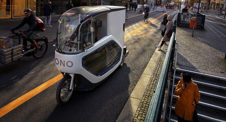 E-Lastenrad ONO PAT von Onomotion