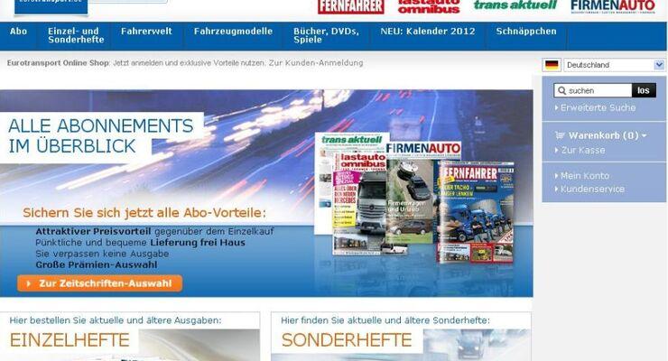 ETM Verlag, Online Shop, November 2011
