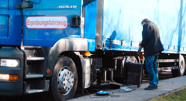 Effiziente Antriebsstränge, Erprobungsfahrzeug
