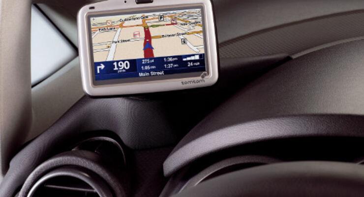 Ein Navigationsgerät von Tom Tom