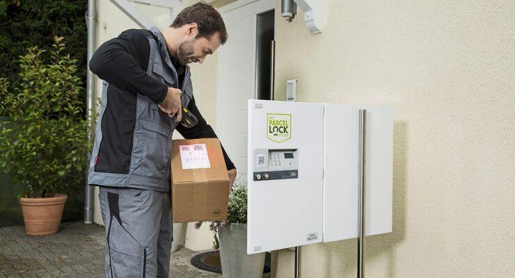 Ein Zugangsstandard soll Paketzustellern die Arbeit erleichtern.