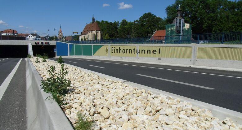 Einhorn-Tunnel, Schwäbisch Gmünd, Lkw, Blitzer