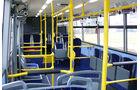 Elektrobus von SOR, Innenraum, Reihen, Logenplätzen