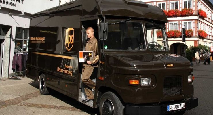 Elektrofahrzeug, UPS, Elektroantrieb