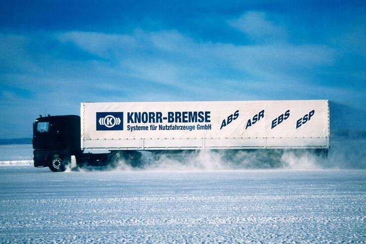 Elektronische Bremssystem, Knorr-Bremse, ABS, ASR, EBS, ESP