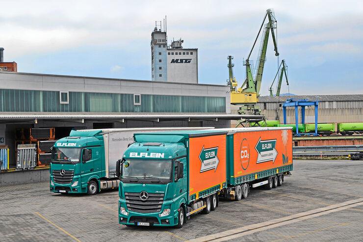 Elflein in Bamberg, Elflein, Transport, Logistik