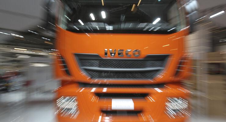 Erste Impressionen  von der Nutzfahrzeug-IAA 2012