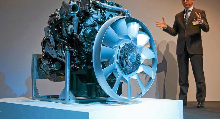 Euro-6-Motoren von Mercedes