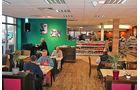 Euro Rastpark Knetzgau, Restaurant, Atmosphäre