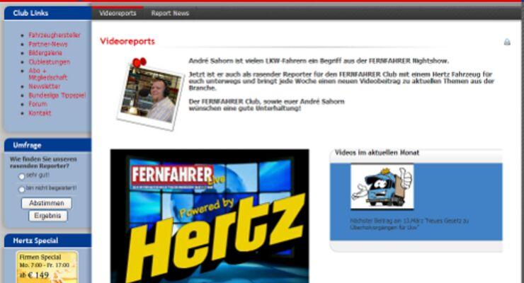 Exklusive Reportagen in FERNFAHRER live