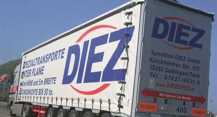 FERNFAHRER 08/2011 - Spedition Diez in Dettingen/Teck