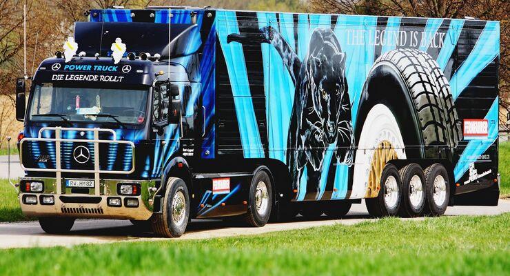 FERNFAHRER-Truck, TGP 2015