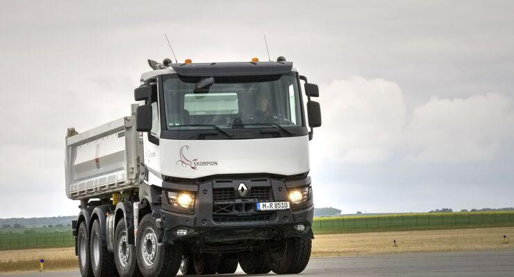 Fahrbericht-Renault K 460 8x4 Skorpion