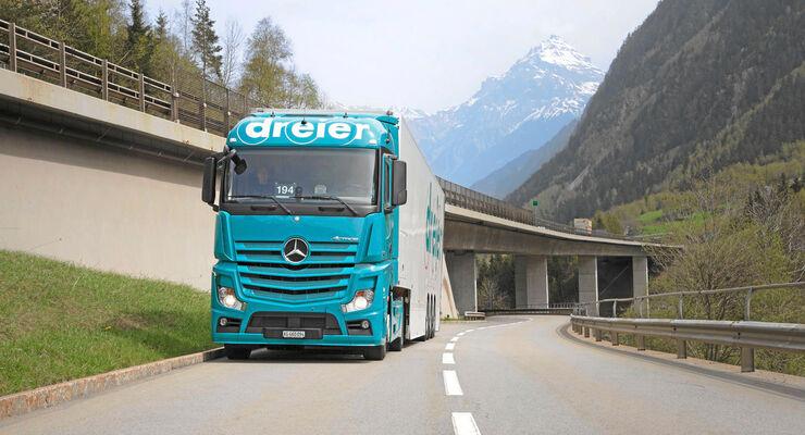 Fahrermangel in Südbaden, dreier, Mercedes