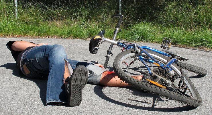 Fahrrad, Unfall