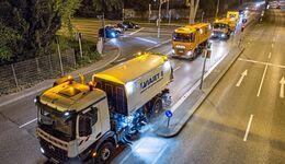 Feinstaub Straßenreinigung