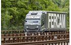 Fercam Truck auf Brücke