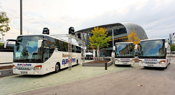 Fernbus, Elektromobilität