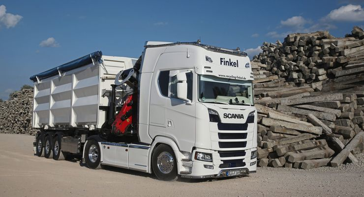 Finkel Recycling, Supertruck FF 9/2018, neuer Scania S.