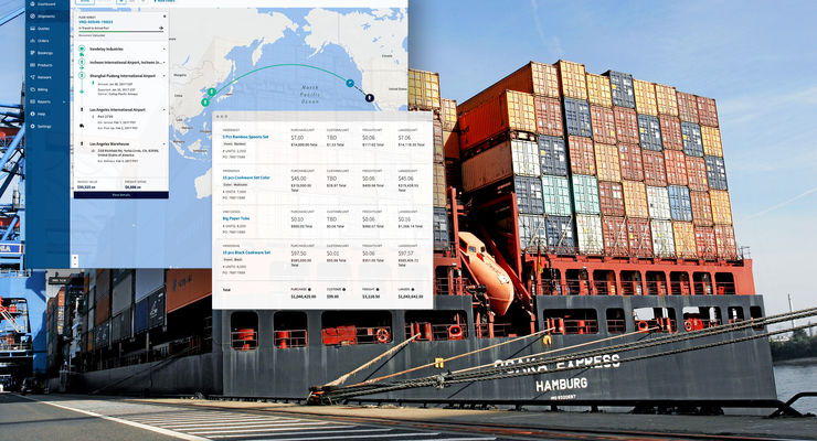 Flexport eröffnet Standort am Hamburger Hafen.